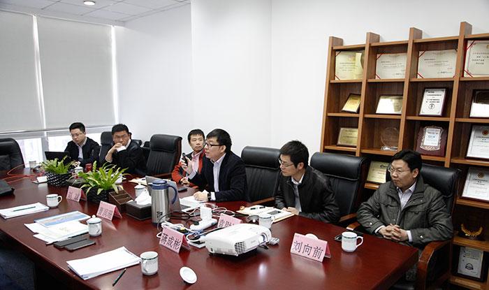 中兵北斗产业投资有限公司总经理曹润珊到访公司